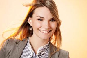 Die Leiterin des Finnland-Instituts in Berlin, Laura Hirvi. Verwendung mit freundlicher Genehmigung des Finnland-Instituts.